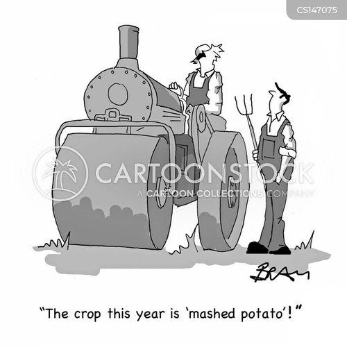 farm vehicles cartoon