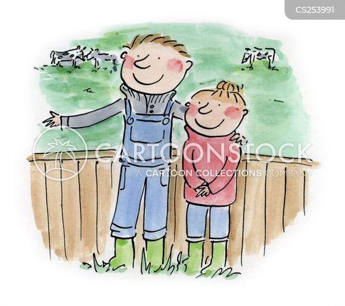 british countryside cartoon