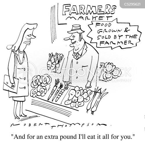 genetically modified crops cartoon