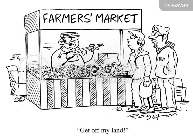 get off my land cartoon