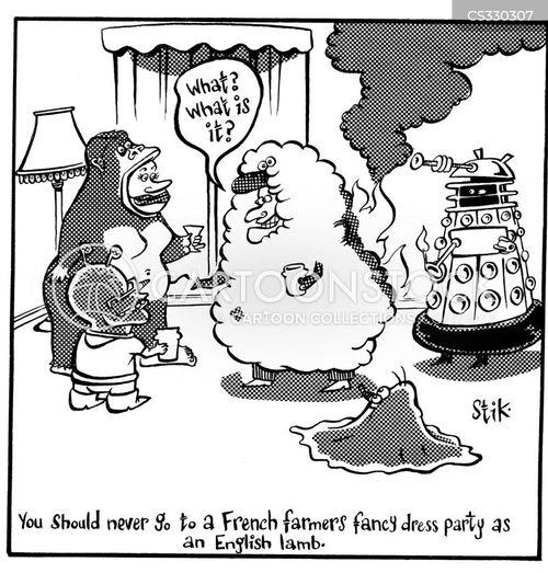 french farmer cartoon