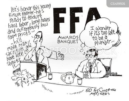 farming industry cartoon