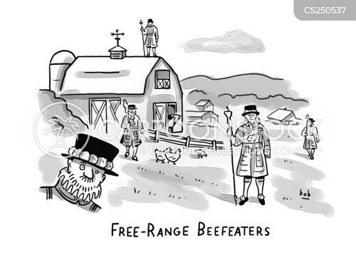 beefeater cartoon