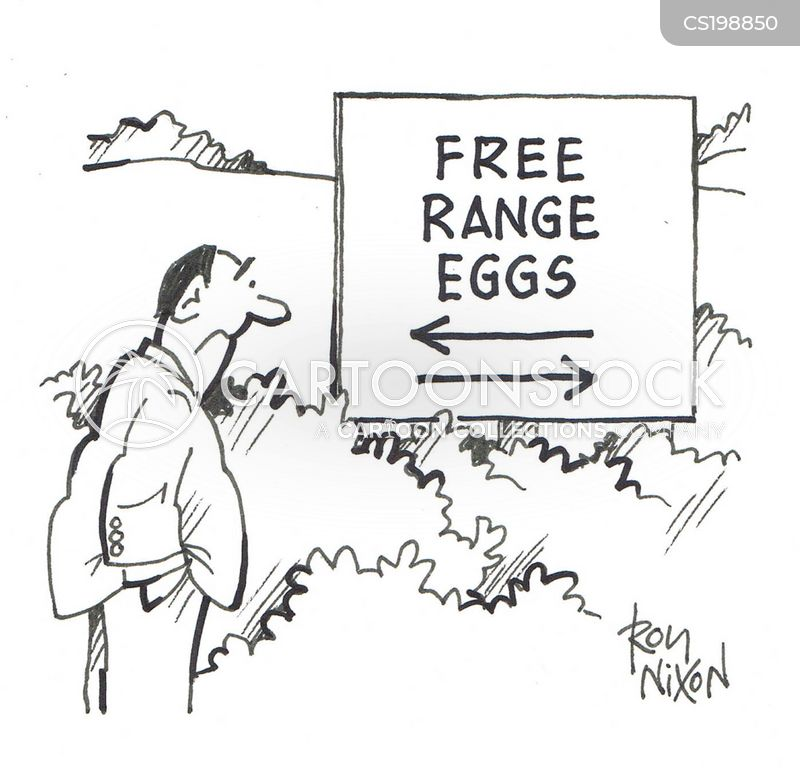 free-range farms cartoon
