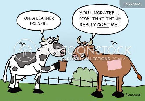 leathers cartoon