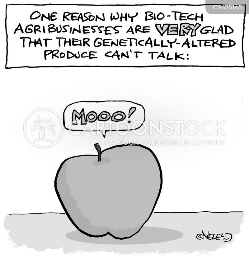 food system cartoon