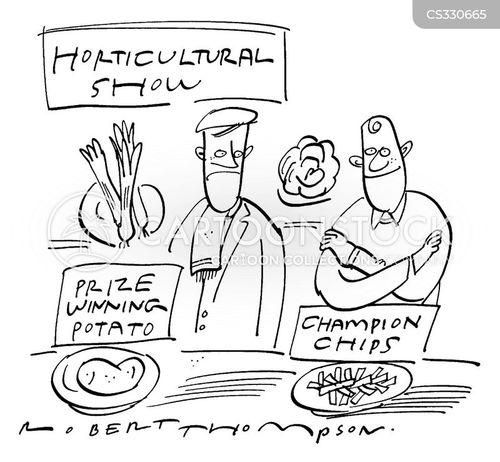 market gardening cartoon