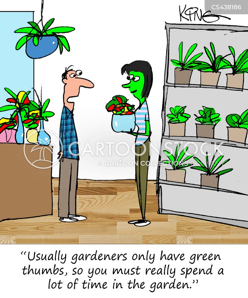 flower shops cartoon