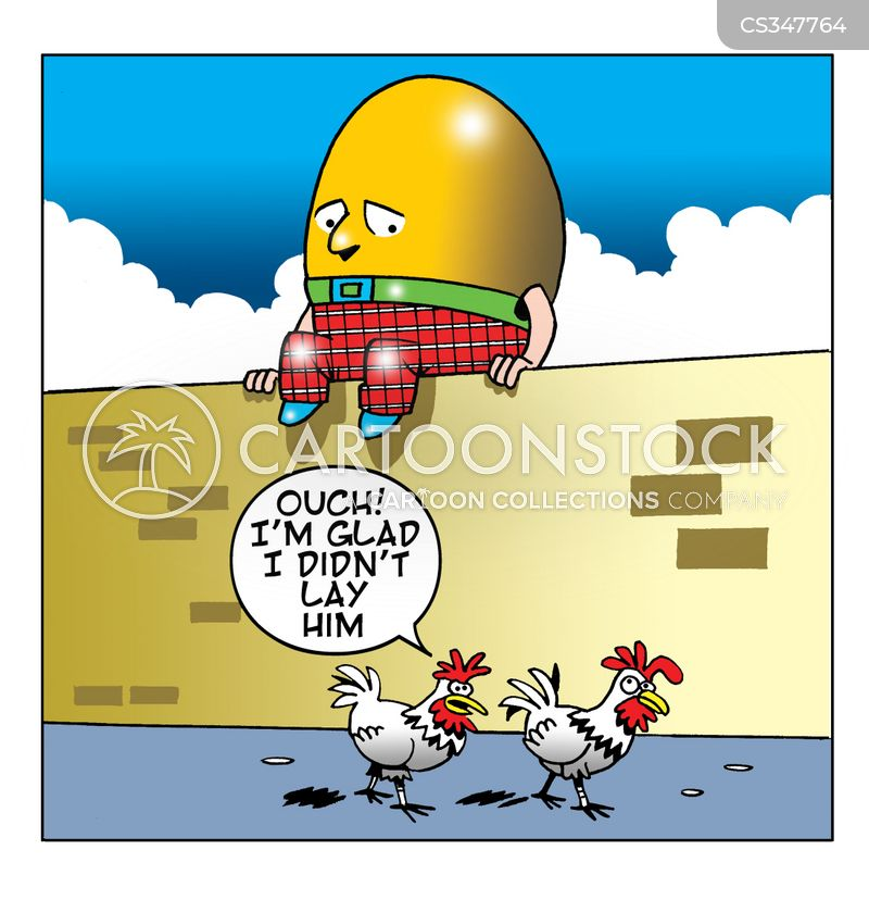 egg layers cartoon