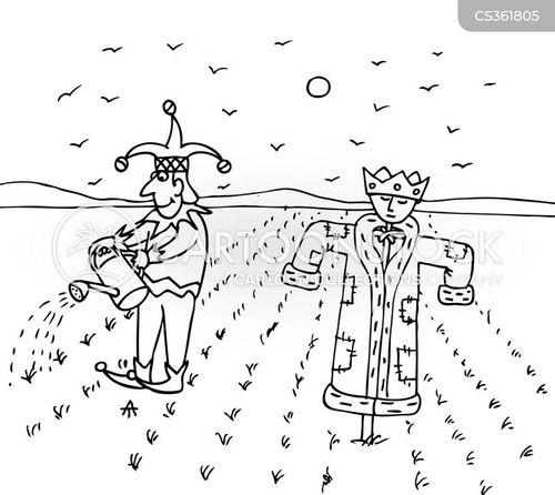 seeding cartoon