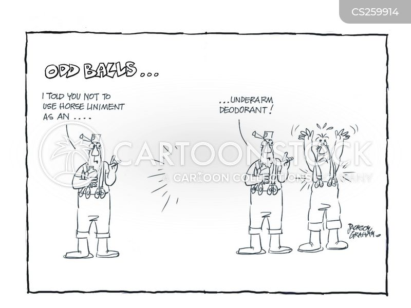 deoderant cartoon
