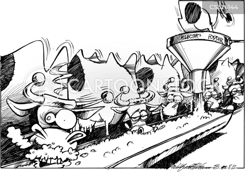 animal food cartoon