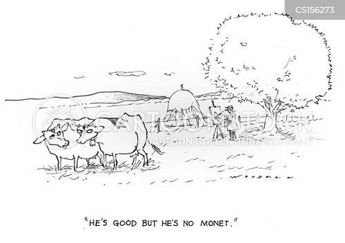 monet cartoon