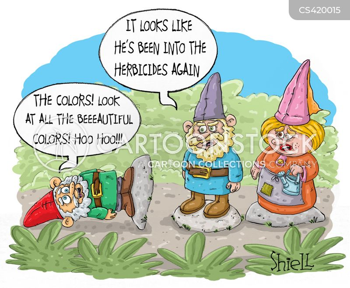 herbicide cartoon