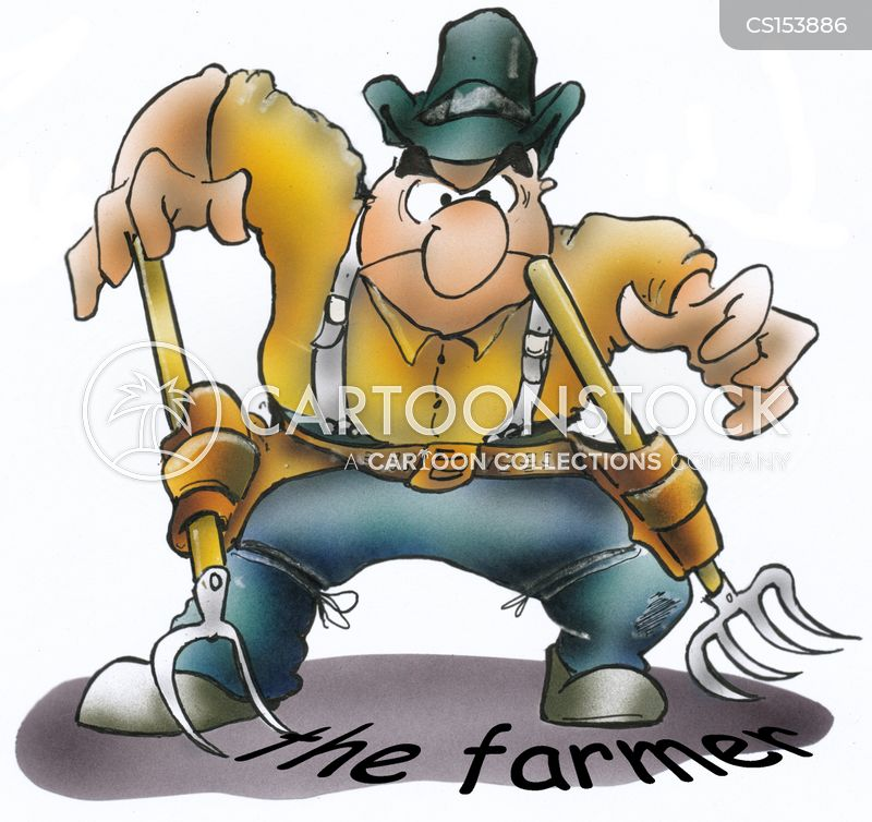 farm work cartoon