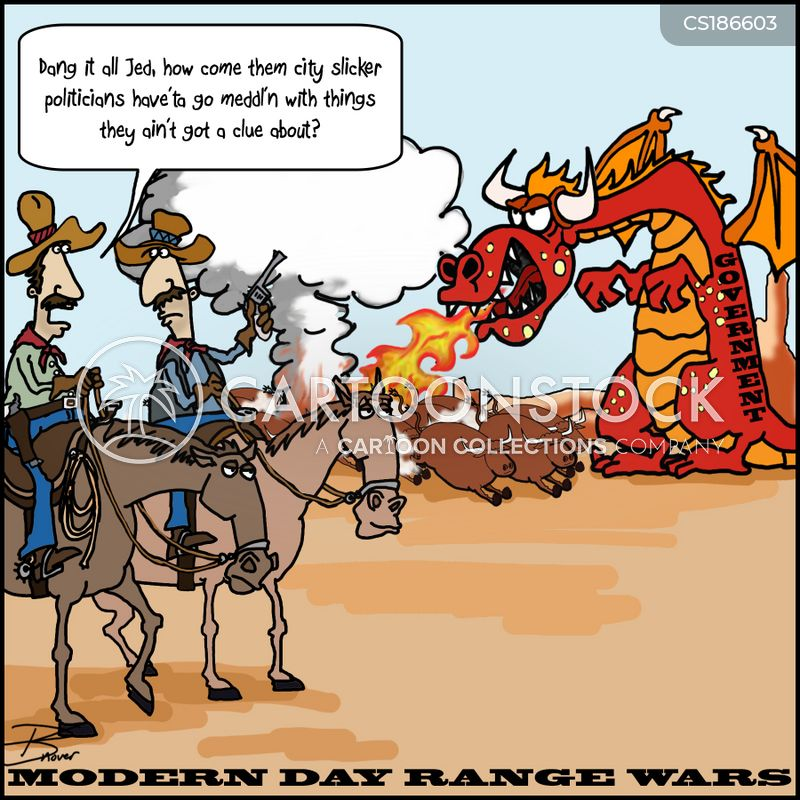 range war cartoon