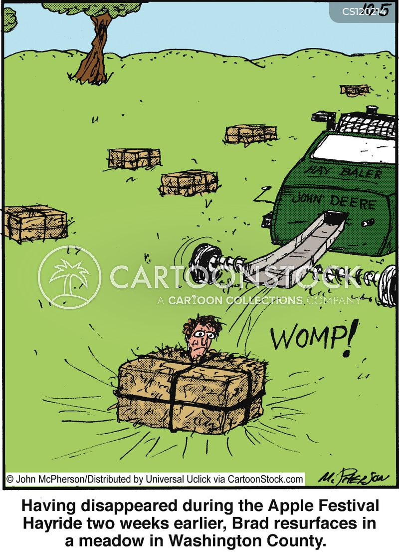 Hay Farmer Tractor Cartoon : Hays cartoons and comics funny pictures from cartoonstock