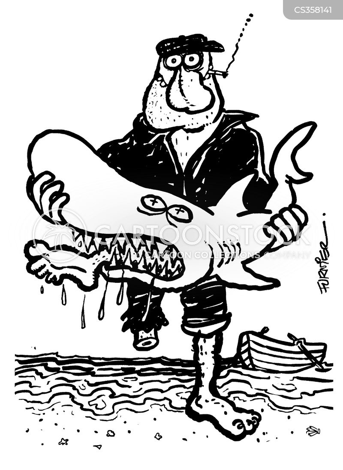 trawler cartoon