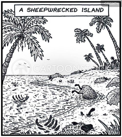 wreckages cartoon