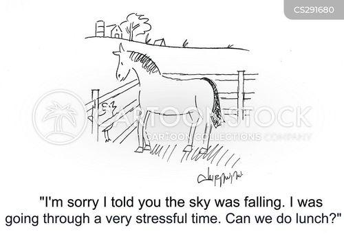 weary cartoon