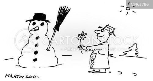 gesturing cartoon