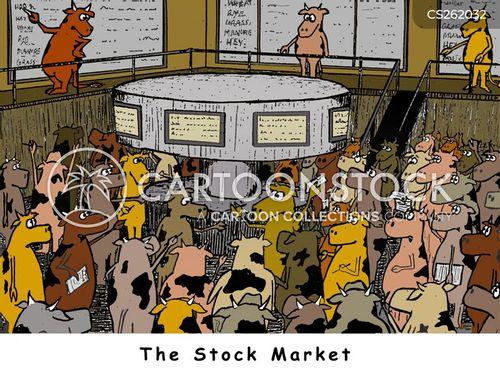 cattle market cartoon