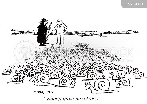 work related stress cartoon