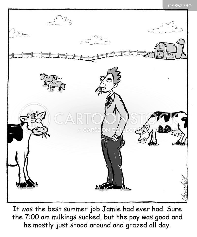 temporary jobs cartoon