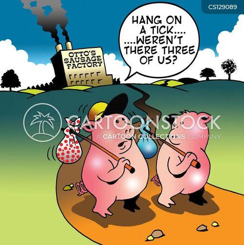 sausage factories cartoon