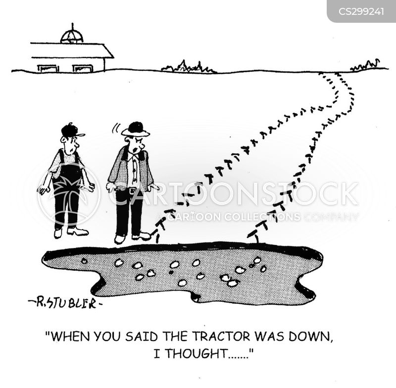 sink holes cartoon