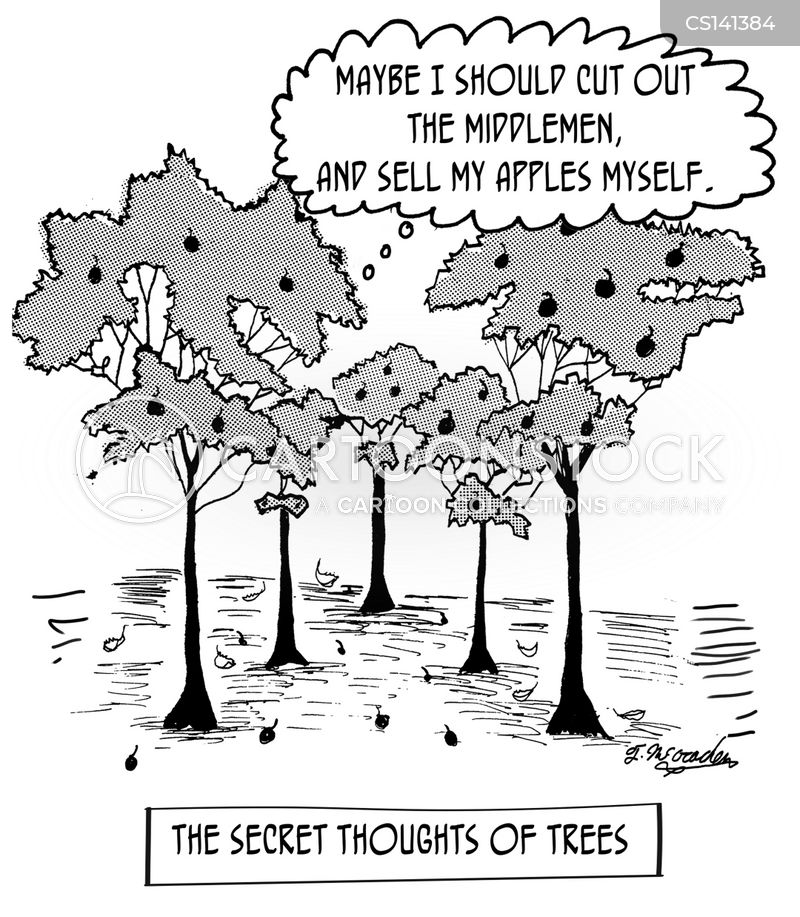 secret thoughts cartoon