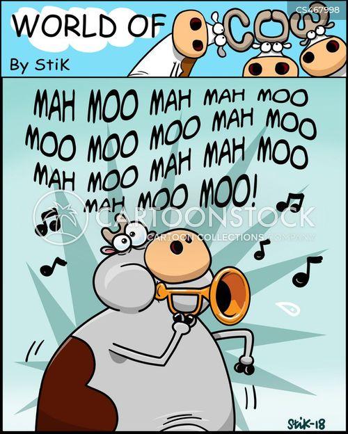 bugle cartoon