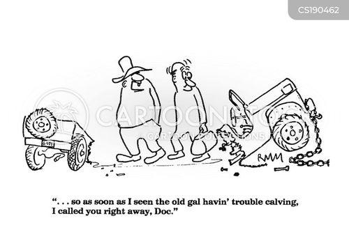 tractors cartoon