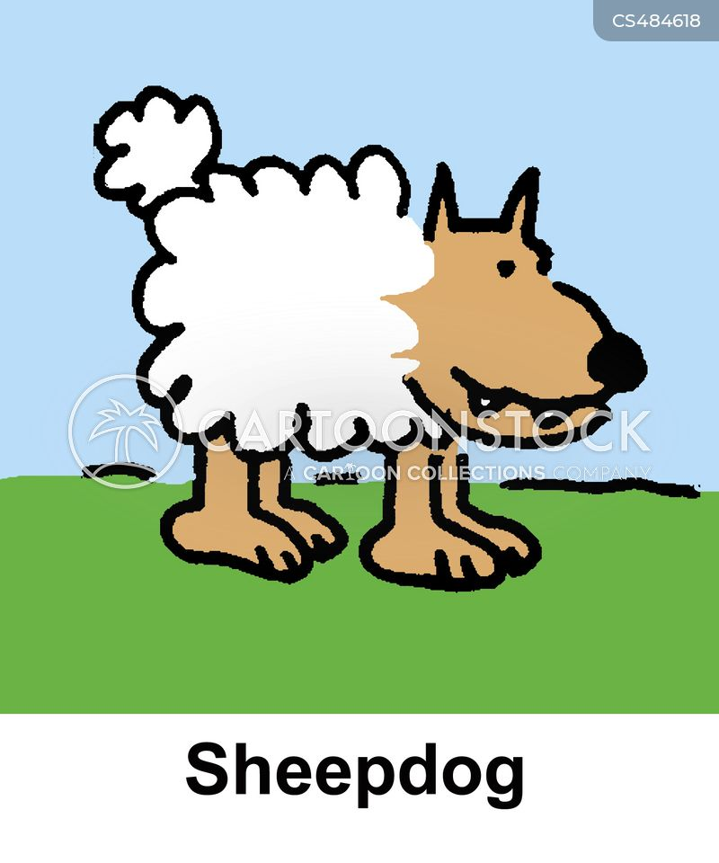 Farm Dog Cartoons and Comics - funny pictures from CartoonStock