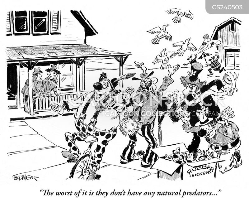terrorised cartoon