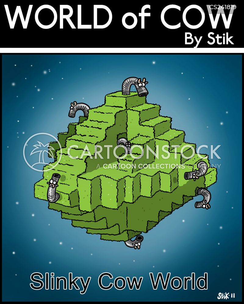 slinky cartoon