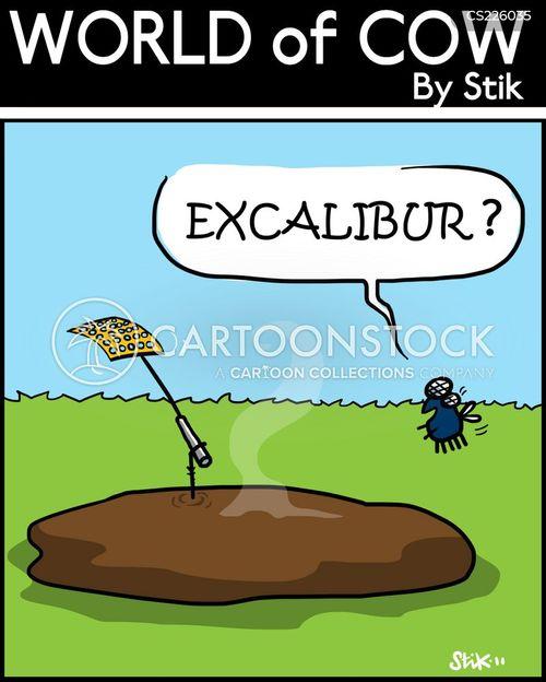 arthurian mythology cartoon