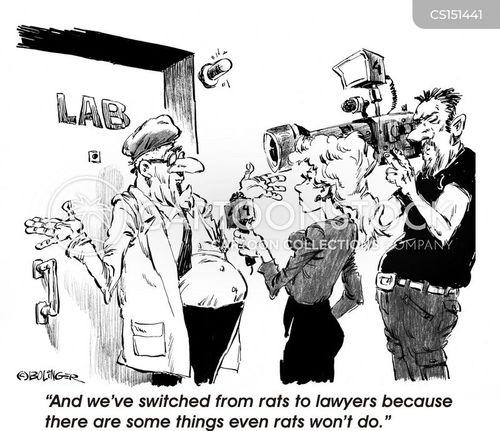medical experiment cartoon