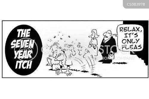 seven year itch cartoon
