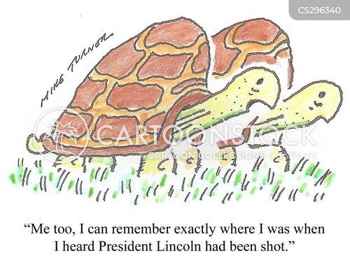 historic moment cartoon