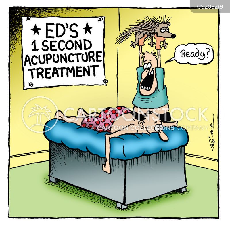 complimentary therapies cartoon