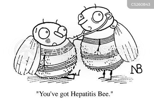 blood disease cartoon