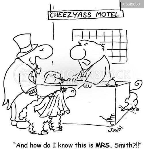 sign-in cartoon