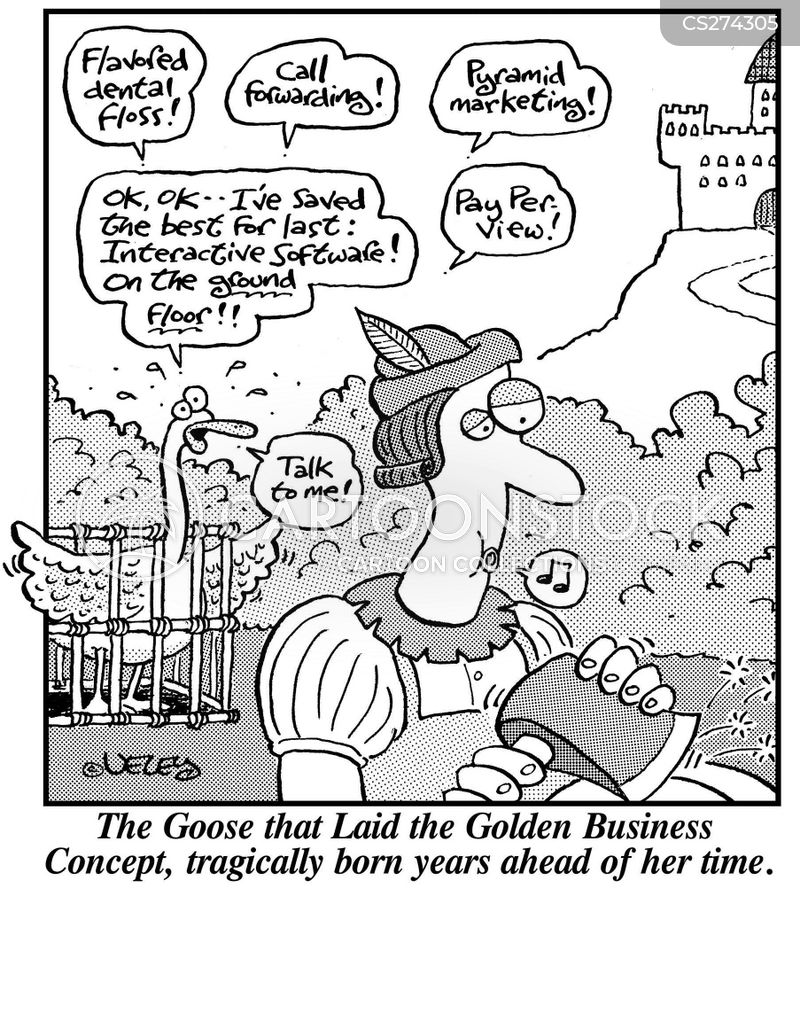 golden egg cartoon