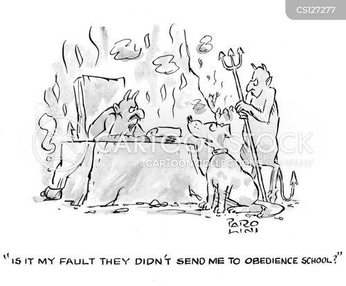 disobeyed cartoon