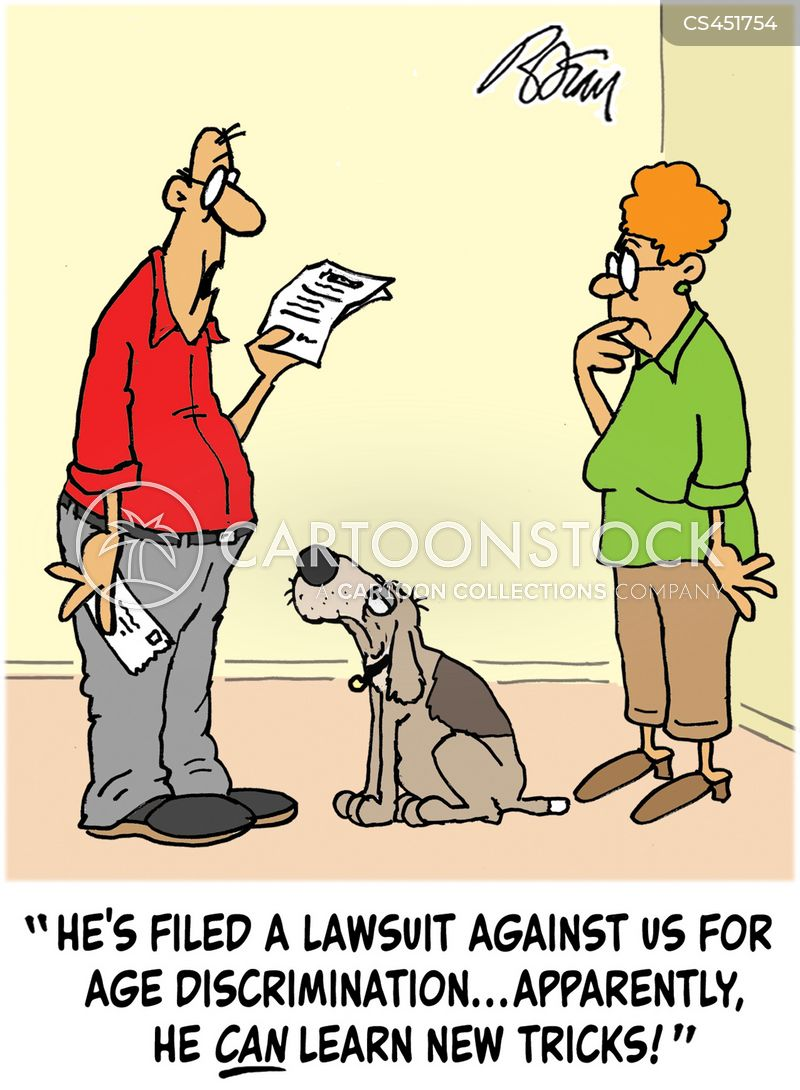 old dogs cartoon