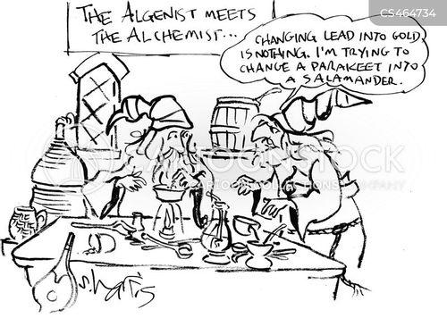 pseudoscientist cartoon