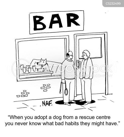 rescue centre cartoon