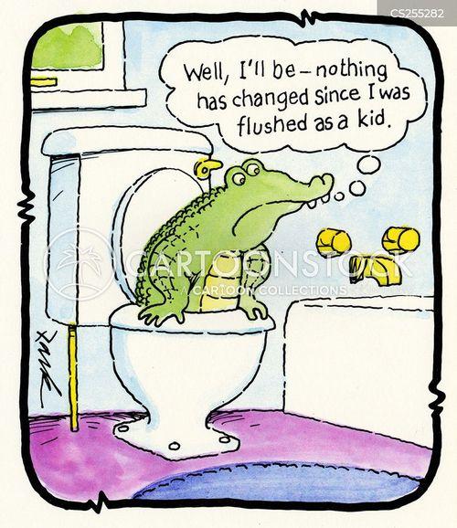 aligator cartoon