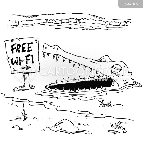 internet access cartoon